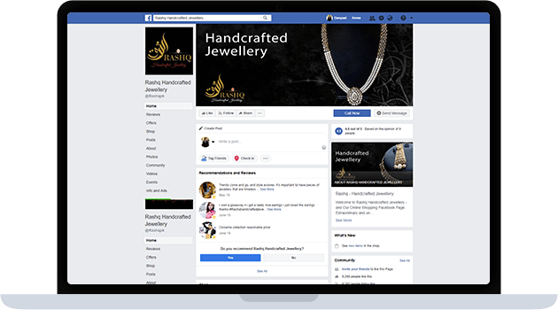 Rashq – Handcrafted Jewellery